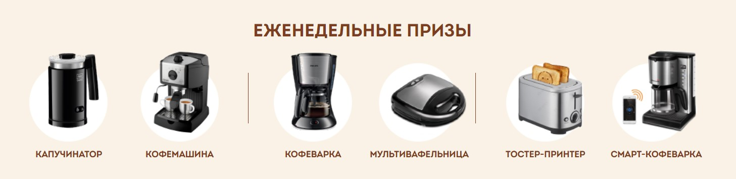акция в пятерочке кофе